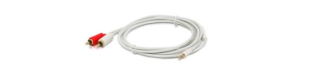 PROCAST Cable M-MJ/2RCA.2 - профессиональный межблочный соединительный звуковой кабель с разъёмами miniJack 3,5mm с одной стороны и 2RCA с другой