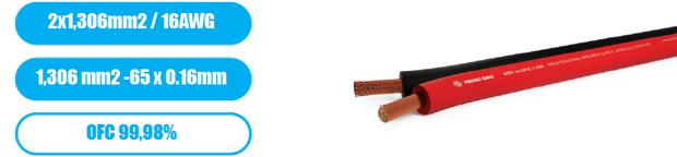 Профессиональный инсталляционный спикерный (акустический) кабель PROCAST Cable SBR16.OFC.1,306